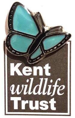 Kent WT Logo Pin