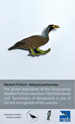 Bangladesh - Masked Finfoot