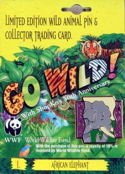 World Wildlife Federation Shopko Elephant