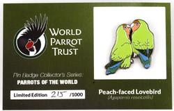 #6 Peach-faced Lovebirds