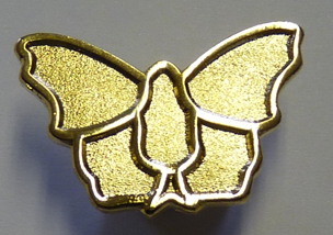 Butterfly Conservation Life Benefactor Pin