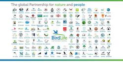 Birdlife Partner Map