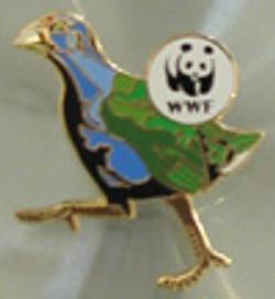 WWF Takahe Pin