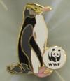 WWF Hoiho Pin, the yellow-eyed penguin