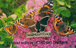 Butterfly Conservation 50th Anniversary