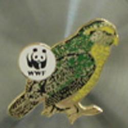 WWF Kakapo Pin