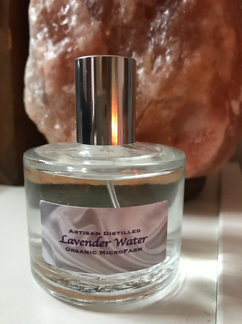 Lavender Water - Organic, 50 ml spray bottle