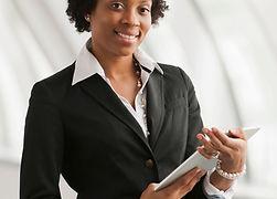 Jovem mulher de negócios