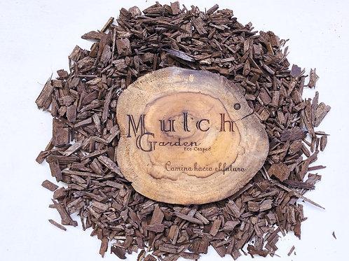 Mulch marrón