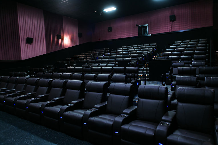 cinema recliners installed at atlas diamond center