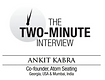 two minute interview with ankit kabra co founder spaces and between