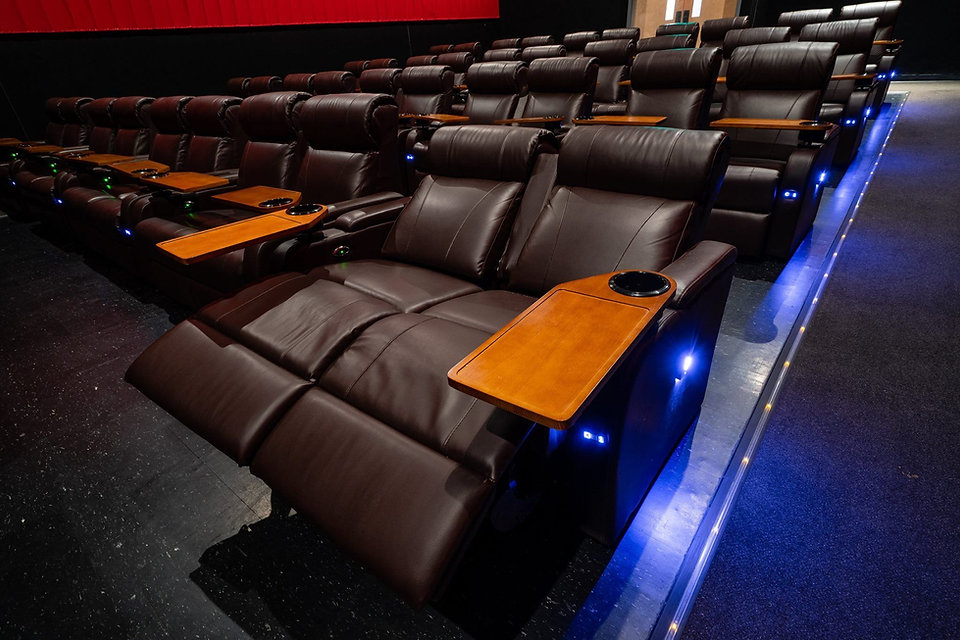 luxury recliner installation at horizon cinemas maryland