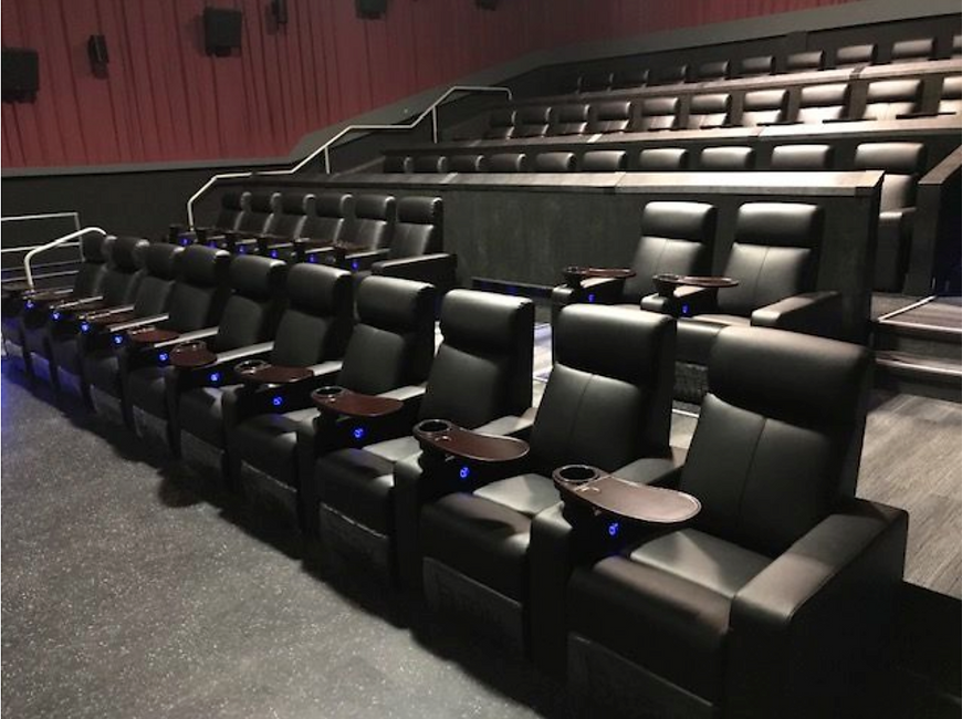 vip recliners at reel ortario usa