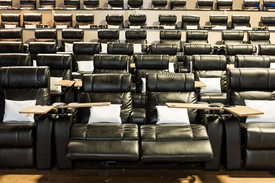 atom seating recliner installation at touchstar cinemas alabama
