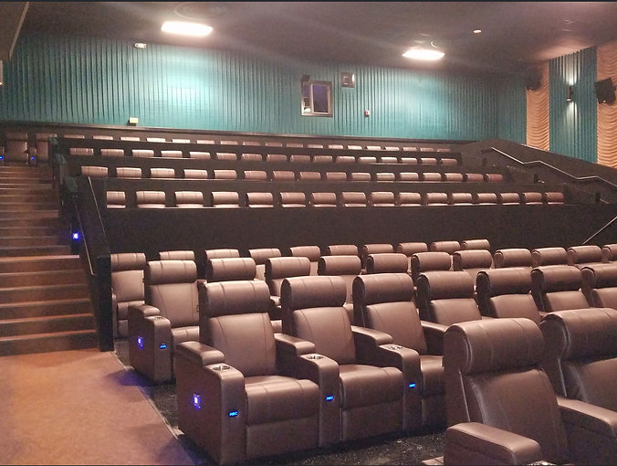 recliner seats installed at atlas eastgate usa