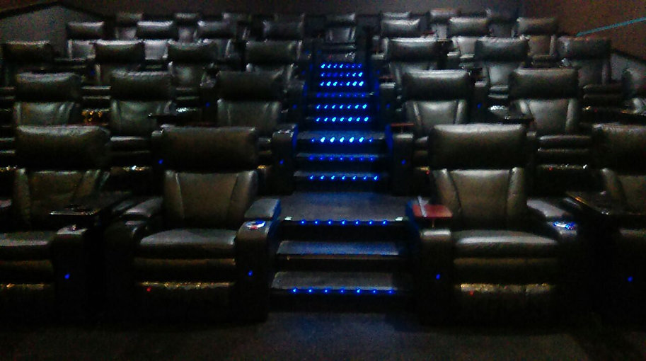 vip recliners installed at al nisr dubai