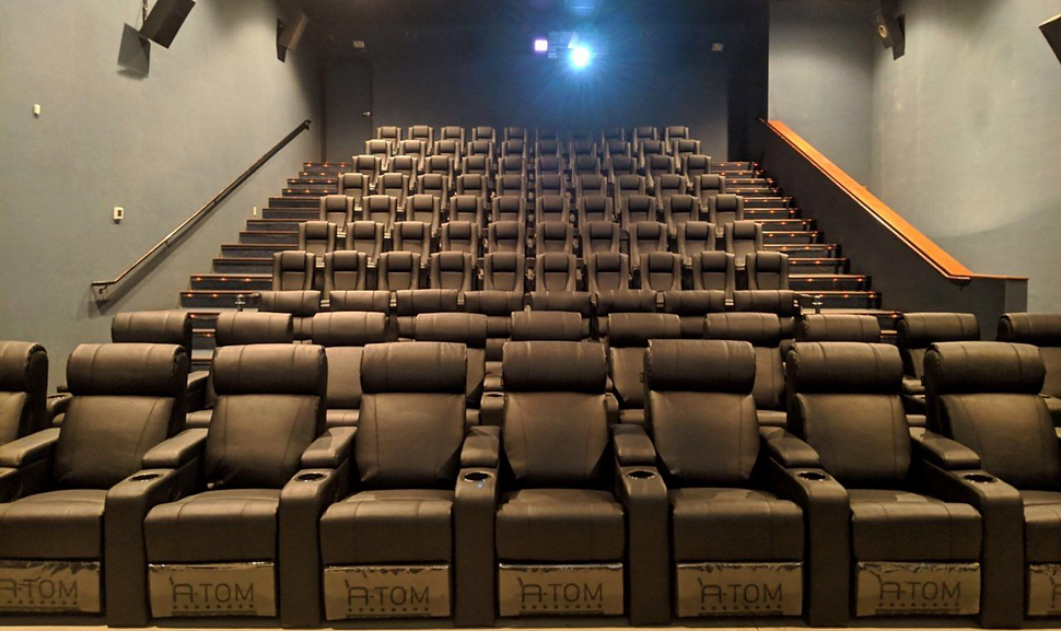 atom seating recliners installed at rochester geneseo usa