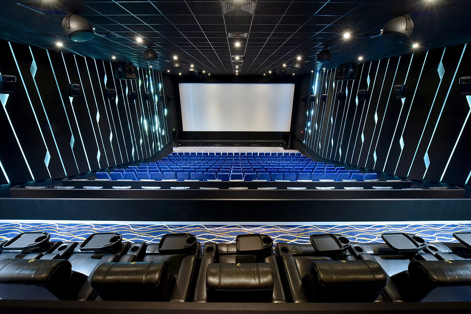 vip recliner installation at cineco cinema baharain