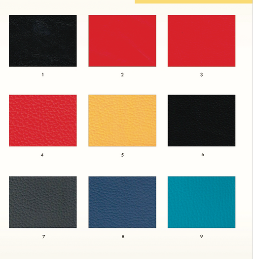 atom seating synthetic leather upholstery for rockers
