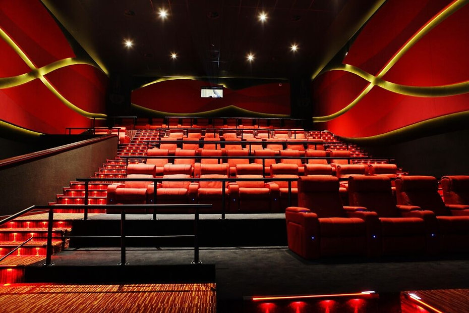 luxury recliners installed at cine grand bulgaria