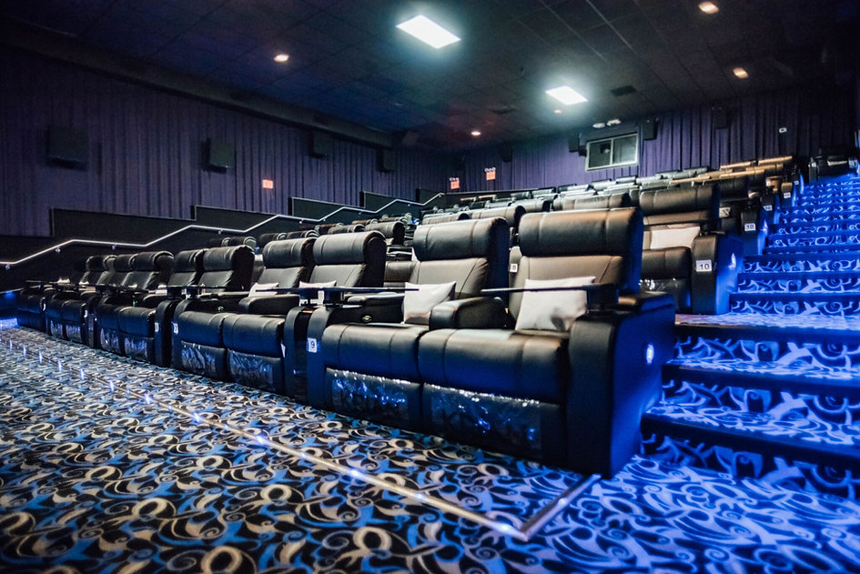 vip relciner installaiton at touchstar cinemas florida