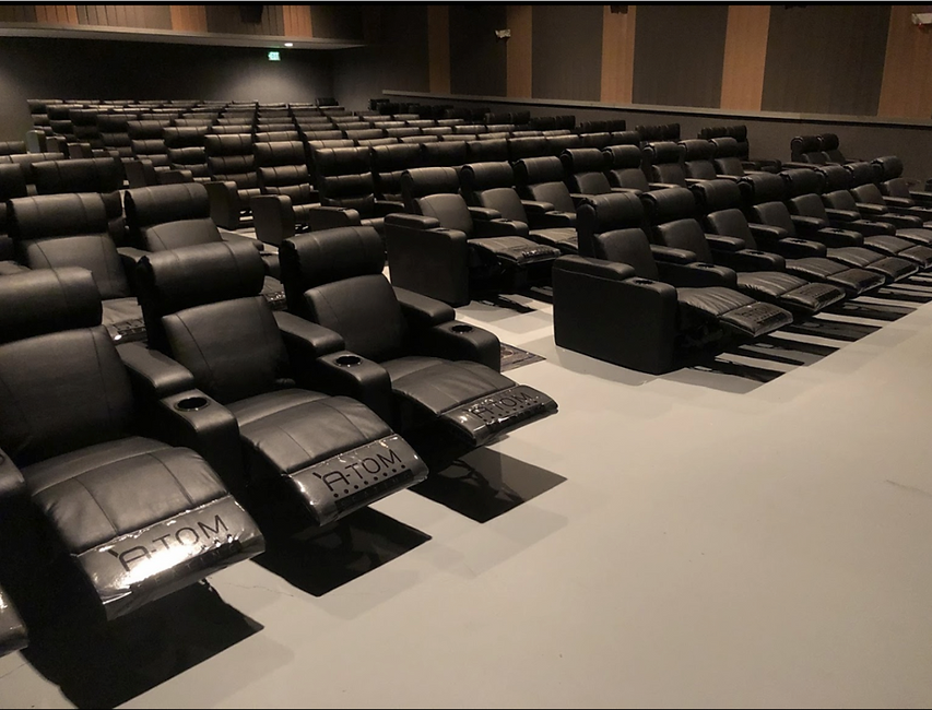 cinema recliners installed at rochester auburn usa