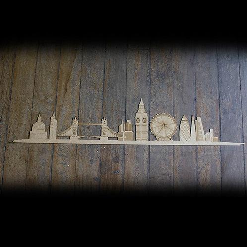 Skyline Londres Detalhado
