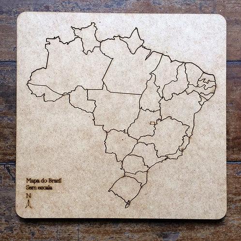 Quebra-Cabeça - Mapa do Brasil