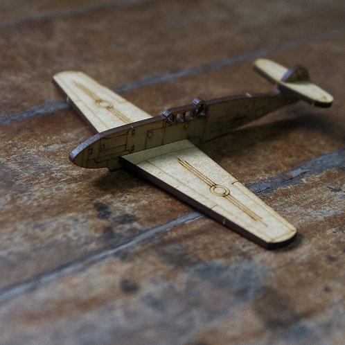 Avião miniatura