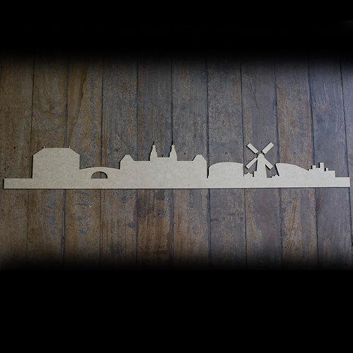 Skyline Amsterdã