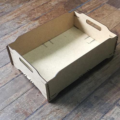 Caixa empilhável