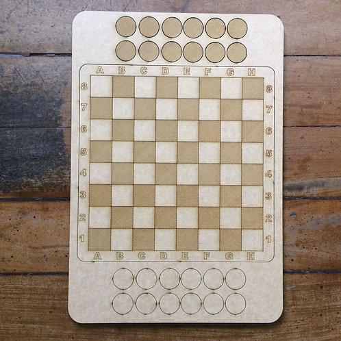 Jogo de Damas - Padrão Listrado