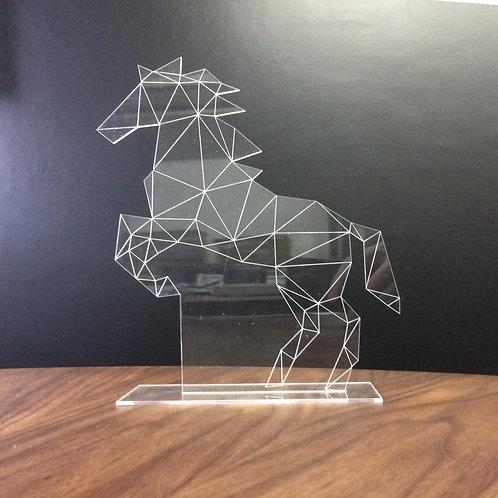 Enfeite Cavalo Poligonal