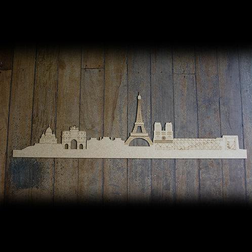 Skyline Paris Detalhado