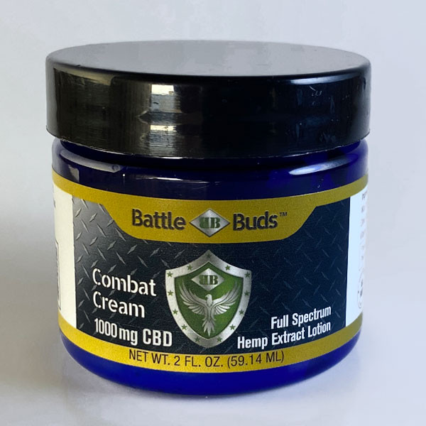 BattleBuds 1000mg Full Spectrum CBD Combat Cream