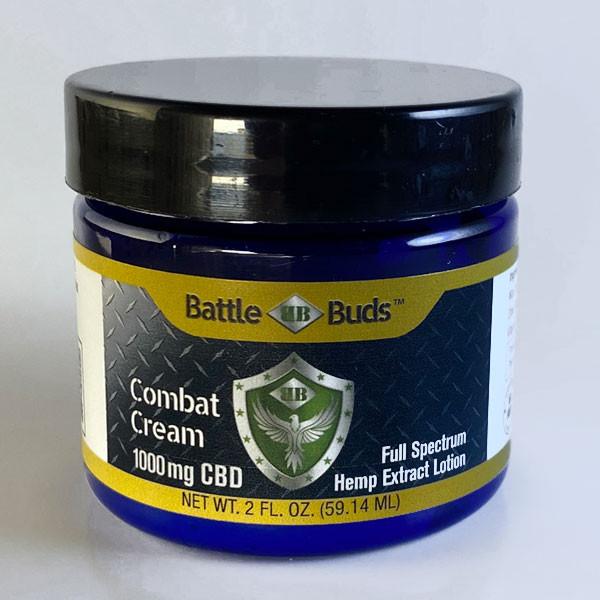 BattleBuds 1000mg Full Spectrum CBD Combat Cream