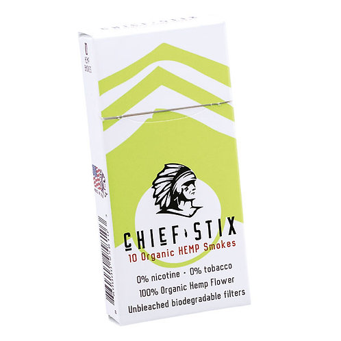 Chief Stix Original 10-Ct Pack 80mg CBD per Stix