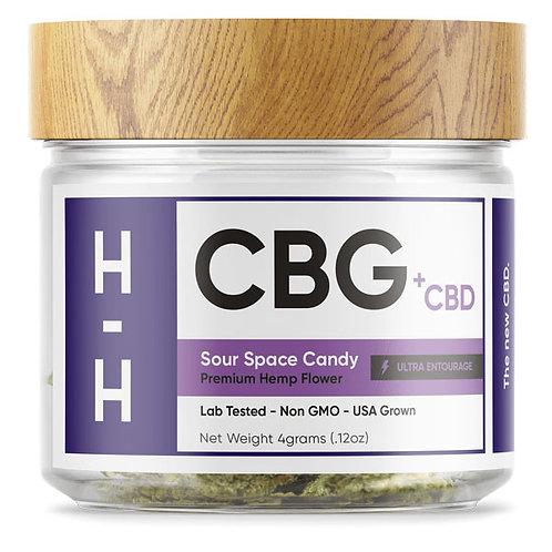 CBG + CBD Sour Space Candy