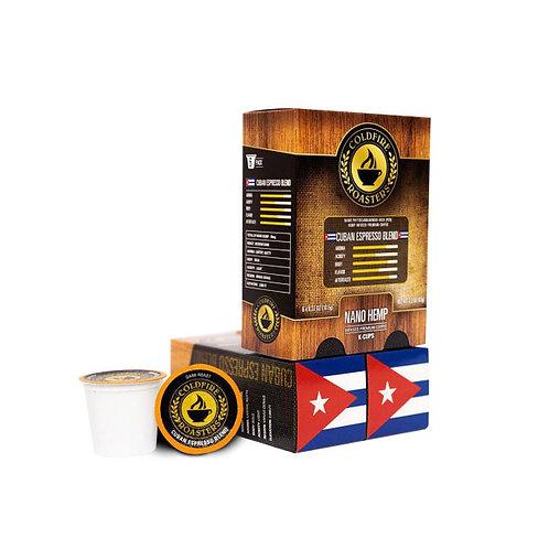 6-pack Hemp-infused Cuban K-Cups / 10mg per - Nano Hemp
