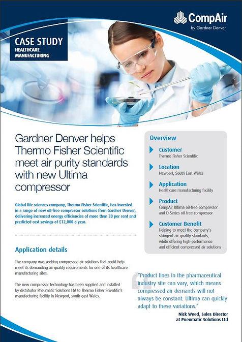 Gardner Denver Air Compressor Case Study