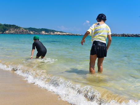 夏の千鳥ヶ浜をご紹介