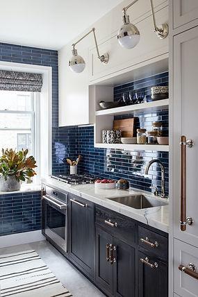 Trend: The Non-White Kitchen