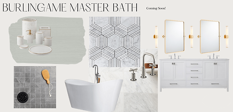 Burlingame Master Bath