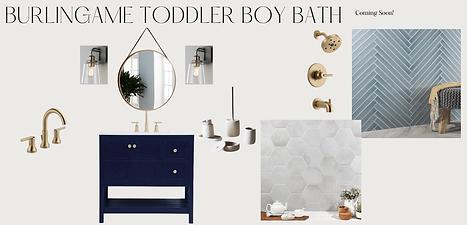 Burlingame Toddler Boy Bath