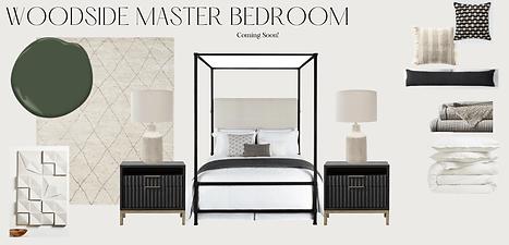 Woodside Master Bedroom