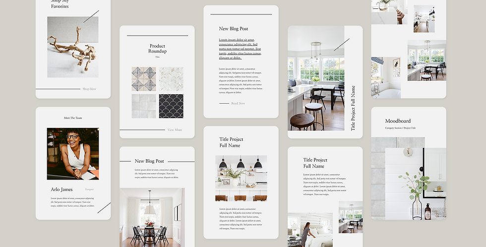 The Arlo Pinterest Template