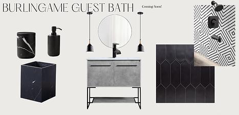 Burlingame Guest Bath