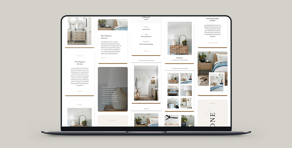The Mica Pinterest Template