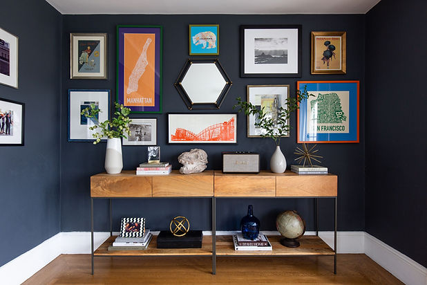 Along Came Lennox _ Full Service Interior Design _ Sonoma, CA _ After, Gallery Wall.jpeg