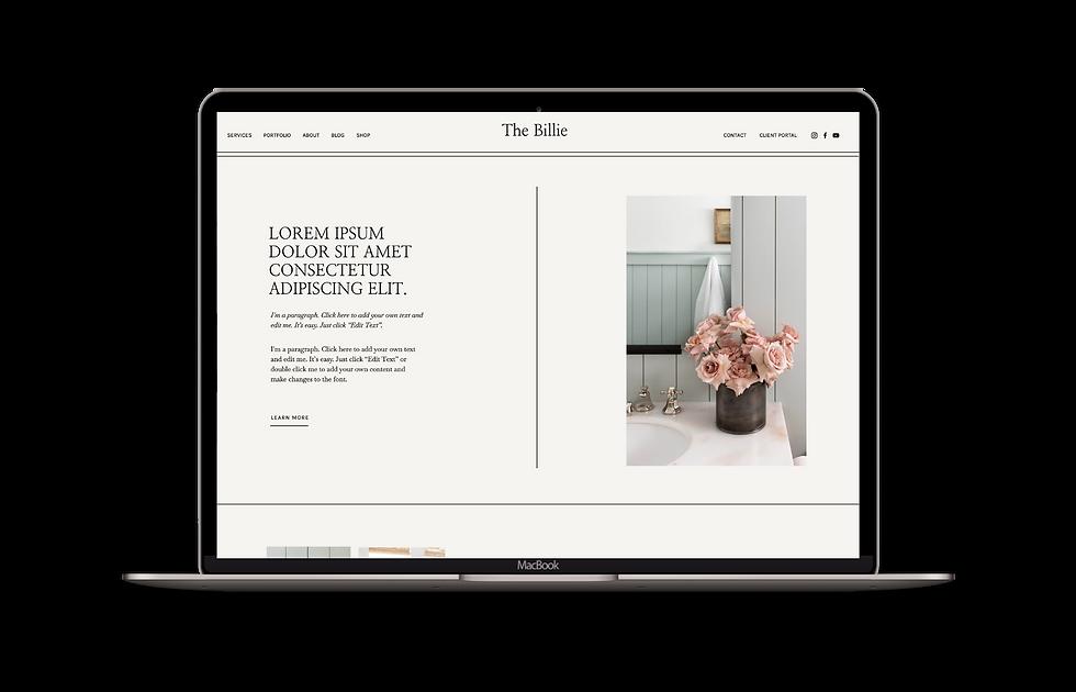 Easy to use website template for interior designers | IDCO Studio